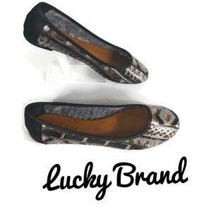 NWOB  lucky brand flats